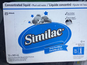 Simulac formula unopened concentrate