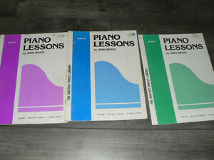Piano Music Books - Beginners, Lessons