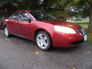 2008 Pontiac G6, 4 Dr, Very LOW Kms, Loaded, EXCELLENT CONDITION