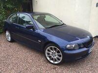 BMW 318ti 2.0 140BHP Compact - 12 Months MOT