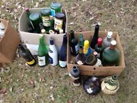 Old and antique bottles