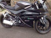 Yamaha yzf r125 mot till dec 2018