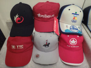 NEW Rugby Vancouver 2010 YYC RCMP Air Canada Baseball Hats
