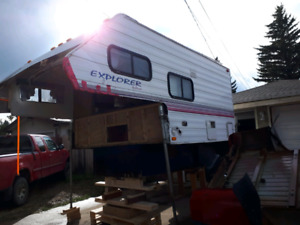 9' camper for salvage