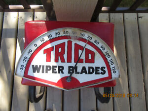 VINTAGE TRICO WIPER BLADES THERMOMETER