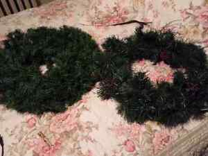 WREATHS. ..18 in diameter  Cambridge Kitchener Area image 1