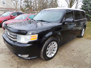 2009 FORD FLEX SEL, 3.5L V6, AWD, LEATHER, DUAL MOON ROOF