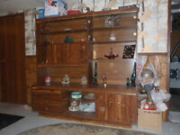 Mint condition Hutch \ Displaty Stand.