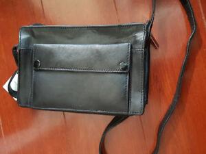 Small leather  crossbody handbag