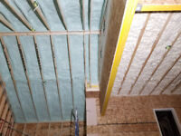 Spray foam insulation,Professional services,Reasonable prices.