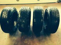 Set of 4 P275/55R20 Hankook Tires