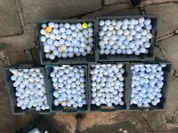 Used mixed golf balls for sale