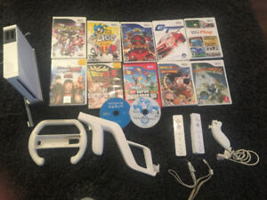WII CONSOLE, GAMES & ACCESSORIES