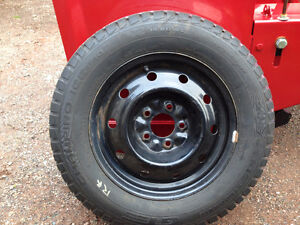 205/65/15 winter studded tires on rims