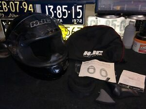 HJC SNELL/DOT approved motorcycle helmet