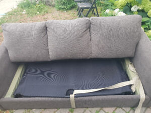 Grey sofa bed for SALE - good condition, ASAP