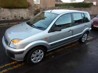 FORD FUSION 1.4 diesel climate 2008 Diesel Manual in Silver