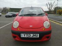 Daewoo Matiz 0.8 SE+ 12 Months Mot, 2 Keys, 45k low mileage, for sale  Coventry, West Midlands