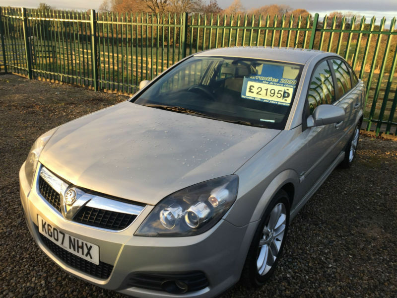 07 VAUXHALL VECTRA 1.8 SRI X-PACK FSH FULL MOT FRESH SERVICE