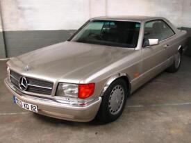 Jan 1987 MERCEDES-BENZ 420 4.2 V8 SEC AUTO 2 Door COUPE Elec.LEATHER