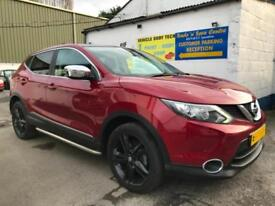 2014 Nissan Qashqai 1.2 DIG-T 115BHP Acenta Premium finished in Tornado Red.