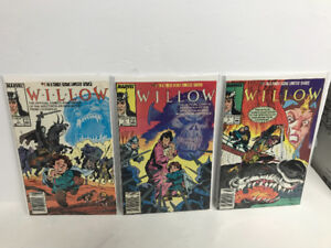 Willow comic books .. compete set
