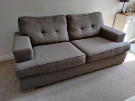 DFS Enzo 3 Seater Sofa
