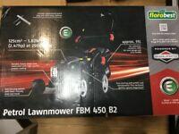 Brand new 125cc petrol lawnmower