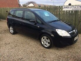 Vauxhall Zafira 1.6 7 seater 09 reg (finance this for £30 a week) long mot excellent condition