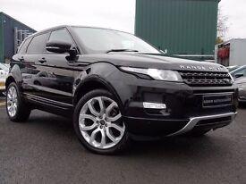 Land Rover RANGE ROVER EVOQUE 2.2 SD4 Pure Tech 4x4 5dr (black) 2013