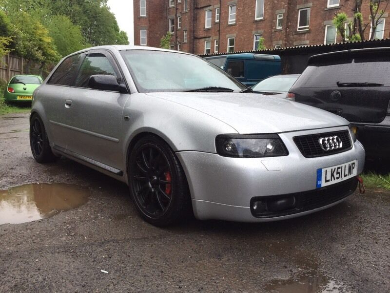 audi s3 8l quattro amk 350bhp wmi hybrid turbo brembo hige spec tt s4 r32 v6 r gti in. Black Bedroom Furniture Sets. Home Design Ideas