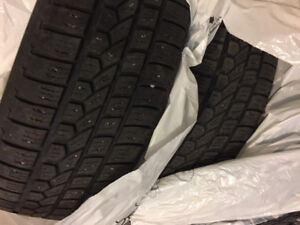"""4 Winter tires """"195-65-15"""" came off a Honda Civic. $125 for 4"""