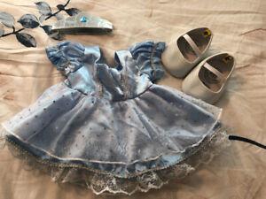 Build-A-Bear Cinderella outfit