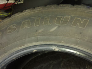 Saulin Ice Blizzard winter tires Set of Four. 275/60 /20