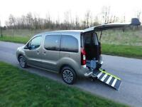2013 Peugeot Partner Tepee 1.6 Hdi Automatic ONLY 12K Wheelchair Accessible WAV