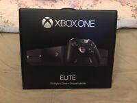 Xbox one elite 1TB bundle including rare elite controller