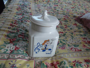 Musical Tetley Tea Cannister