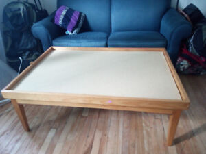 Double Faced Coffee Table for $45 Only