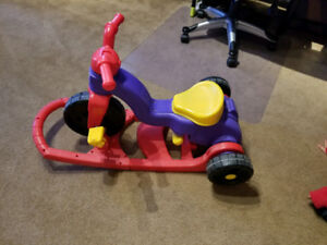 Fisher Price 2 in 1 Bicycle & Rocker