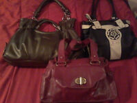 Purses gently used  for sale