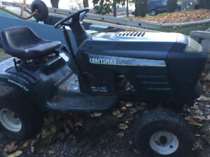 Craftsman garden tractor - rolling chassis $80.00 O.B.O
