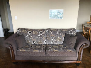 Queen-sized pullout couch