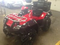 2013 Honda RINCON TRX680 trx 680 4x4 ATV loaded ss rims exhaust