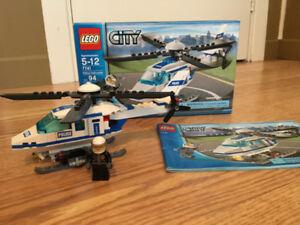 Lego City: Hélicoptère de police 7741