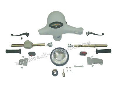 Vespa Headset Handle Gear Throttle Tube 24 mm Speedometer Bajaj ChetaK VLB