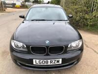 2008 BMW 118D SE 2.0 TURBO DIESEL 143 BHP 6 SPEED FSH £30 TAX A YEAR 60 MPG ECO