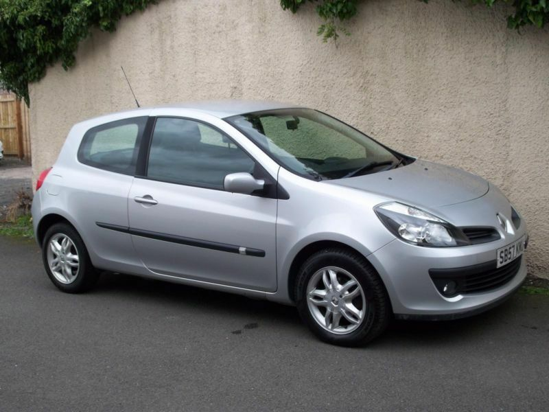 renault clio 1 2tce 16v dynamique 3 door 2007 57 reg with full history in kirkcaldy fife. Black Bedroom Furniture Sets. Home Design Ideas