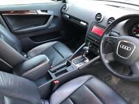 2008 58 reg Audi A3 2.0 TDI Sportback SE S Tronic + BLACK + BLACK LEATHER + Auto