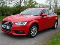 Audi A3 1.6 TDI SE SPORTBACK 105PS (red) 2014