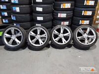 "19"" Genuine Audi A5 Alloy Wheels & Four Tyres"